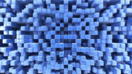 Abstract blue 3d background video
