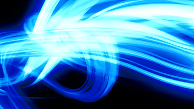 Abstract blue lines video