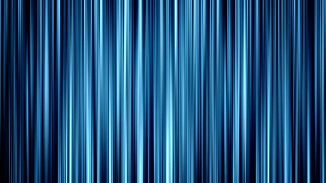 Abstract Blue Vertical Fractal Background Loop video