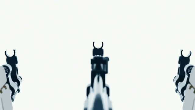 AK47   abstract blurred cyclic animation video