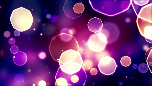 abstract bokeh lights seamless loop video