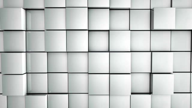 Abstract Boxes Background video