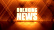 Abstract Breaking News Background video