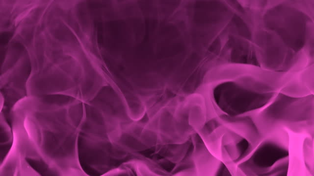 HD SLOW-MOTION: Abstract Burning Flame video