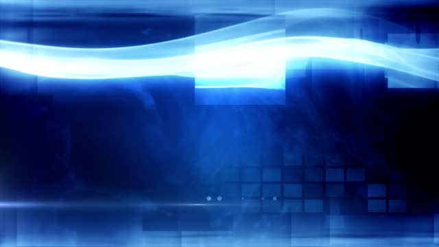 Abstract Business Background (dark blue) - Loop video