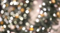 abstract christmas background with defocused lights video