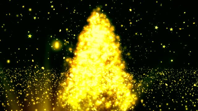 Abstract Christmas Tree 2 Loopable Background video