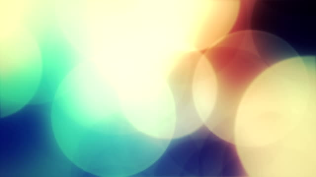 Abstract circles background animation video