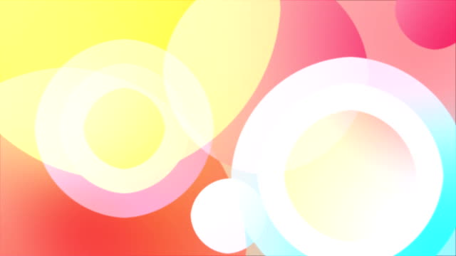 Abstract Colorful Shapes Background video