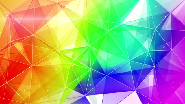 abstract colorful web background seamless loop video