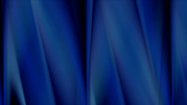 Abstract dark blue smooth stripes video animation video