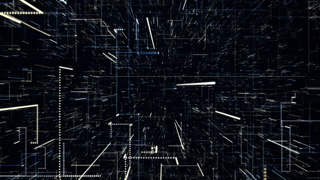 4K abstract digital video background video