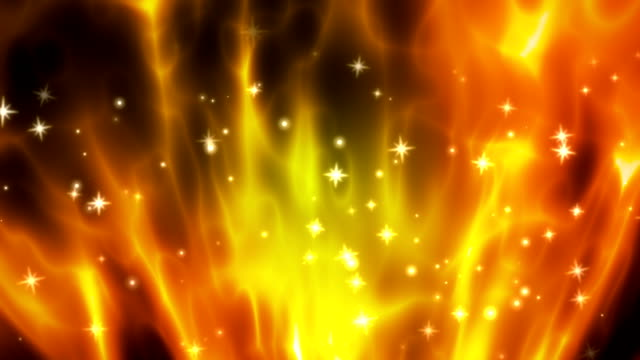 Abstract exploding fire loopable background video
