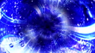 Abstract Fiber Universe Tunnel Background video