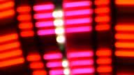Abstract Flashing Lights video