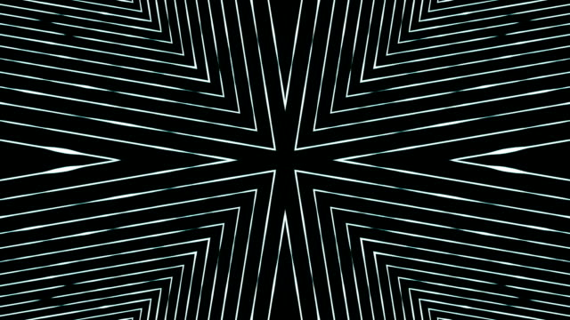 Abstract fractal kaleidoscope background video