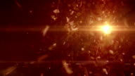 Abstract futuristic background video