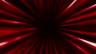 abstract futuristic red tunnel video