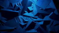Abstract geometric background. 4k Resolution video