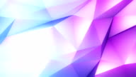 abstract geometric background blue violet video