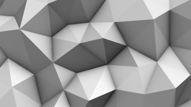 Abstract geometric triangle background video