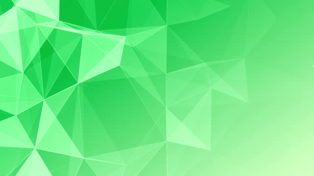 Abstract Geometric Triangles Background green video