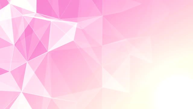 Abstract Geometric Triangles Background pink video