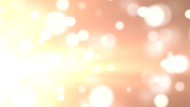 Abstract Glittering Soft Moving Particles video