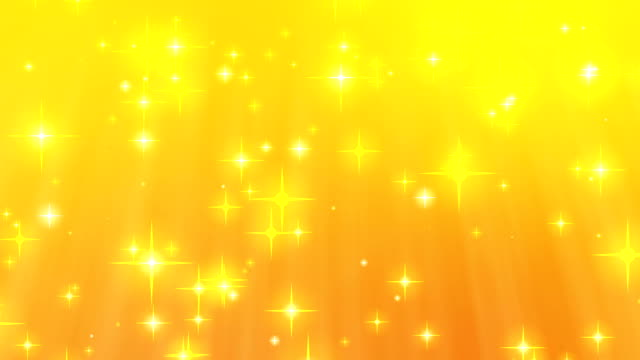 Abstract glittering star particles background video
