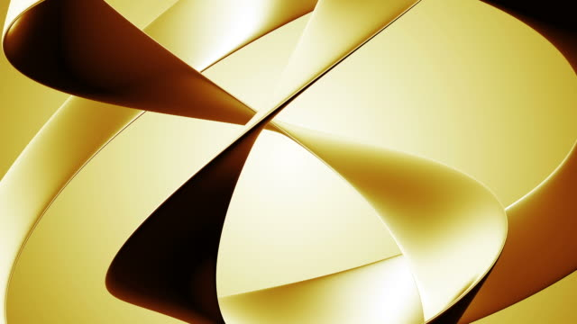 Abstract Golden video