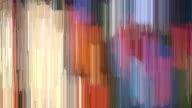 Abstract Graffiti Mosaic Streak Loop video