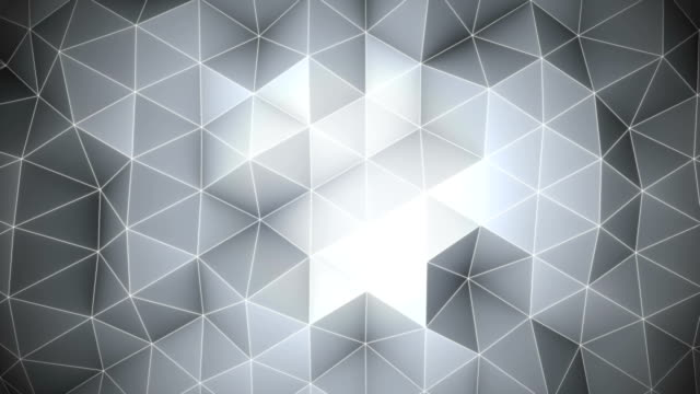 Abstract grey background. Loopable 3D render video
