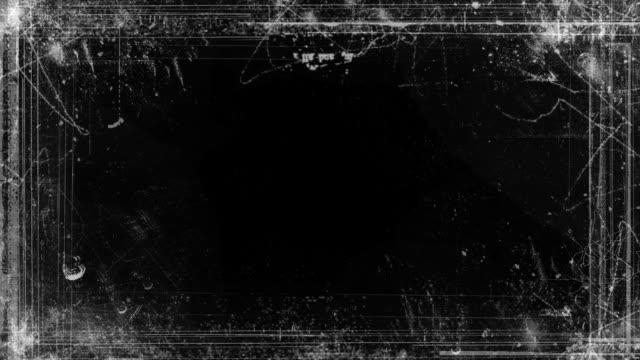Abstract Grunge Video Frame Matte video