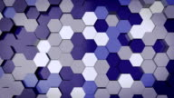 Abstract Hexagon Animation video