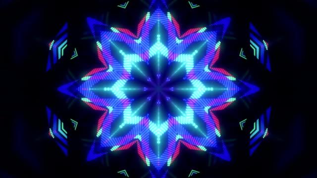 Abstract Kaleidoscope background 02 video