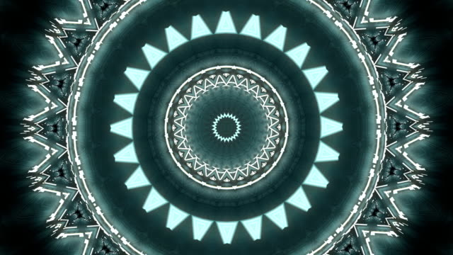 Abstract Kaleidoscope background 03 video