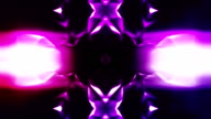 Abstract kaleidoscope loopable background video