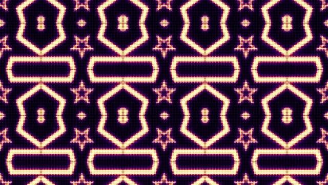 Abstract Kaleidoscope Technology Animation, Background video
