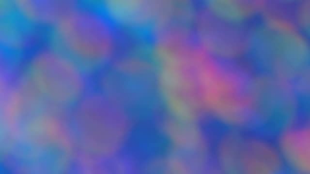 Abstract light multi color backgrounds bokeh video
