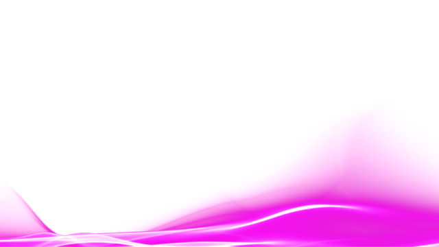 Abstract magenta pink wave motion animation video