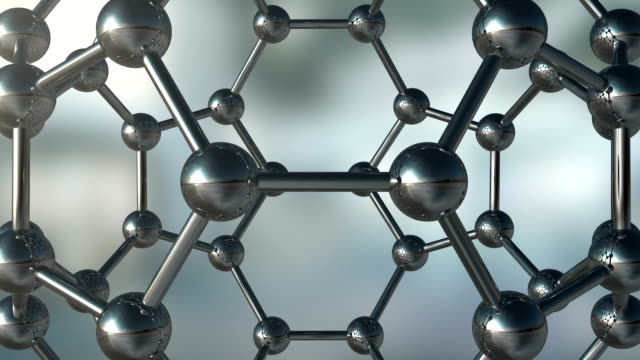 Abstract Molecule Background video