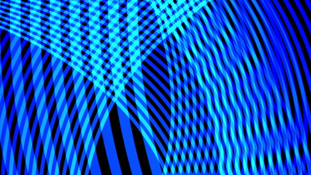 Abstract Motion Trellis video