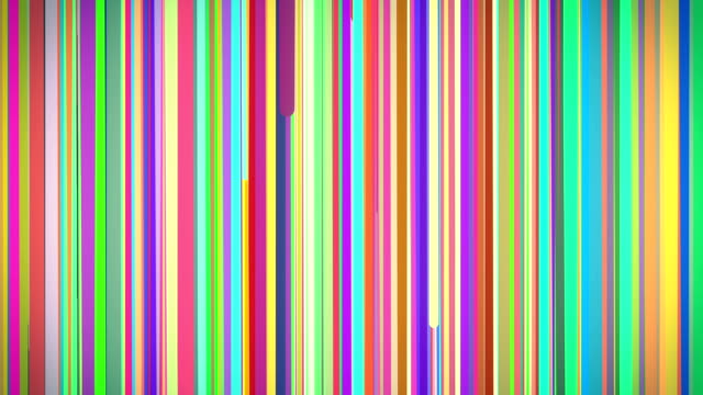 Abstract Multi Colored Vertical Stripe Background Loop video