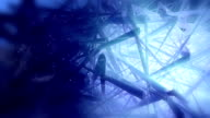 Abstract network background video