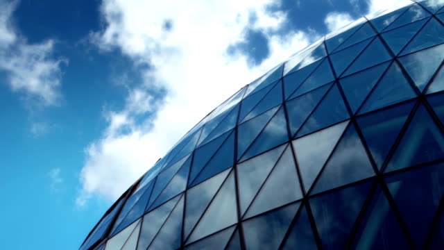 Abstract Office Building Time-lapse. HD video
