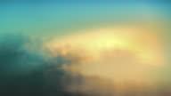 Abstract or sky background. Defocused clouds. Loop. Timelapse. Pastel blue. video