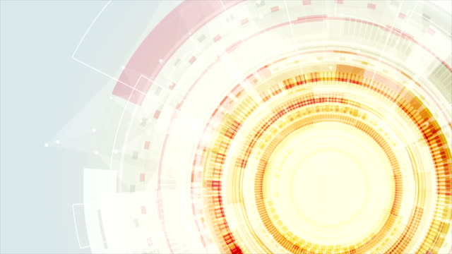 Abstract orange technology video animation video