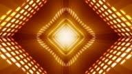 Abstract Orange VU meter Background video