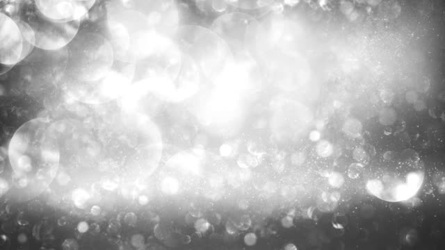 Abstract particles (silver) - Loop video