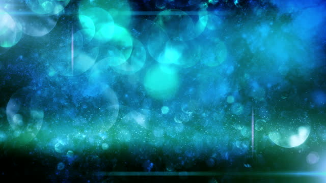 Abstract particles (dark blue) - Loop video